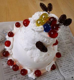 ケーキ・めいっぱいデコ