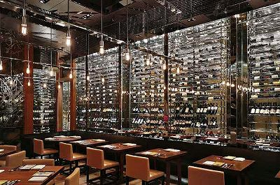 Park Hyatt Shanghai 91F restaurant wine cellar