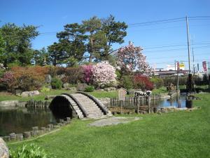 男山酒造庭園1