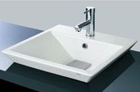 TOTO洗面器折り紙小型排水カバー付き