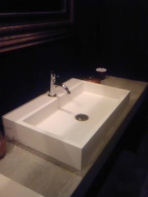栄のお店の洗面
