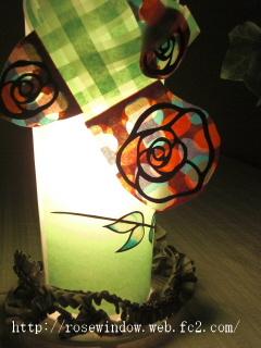 ローズウィンドウ照明