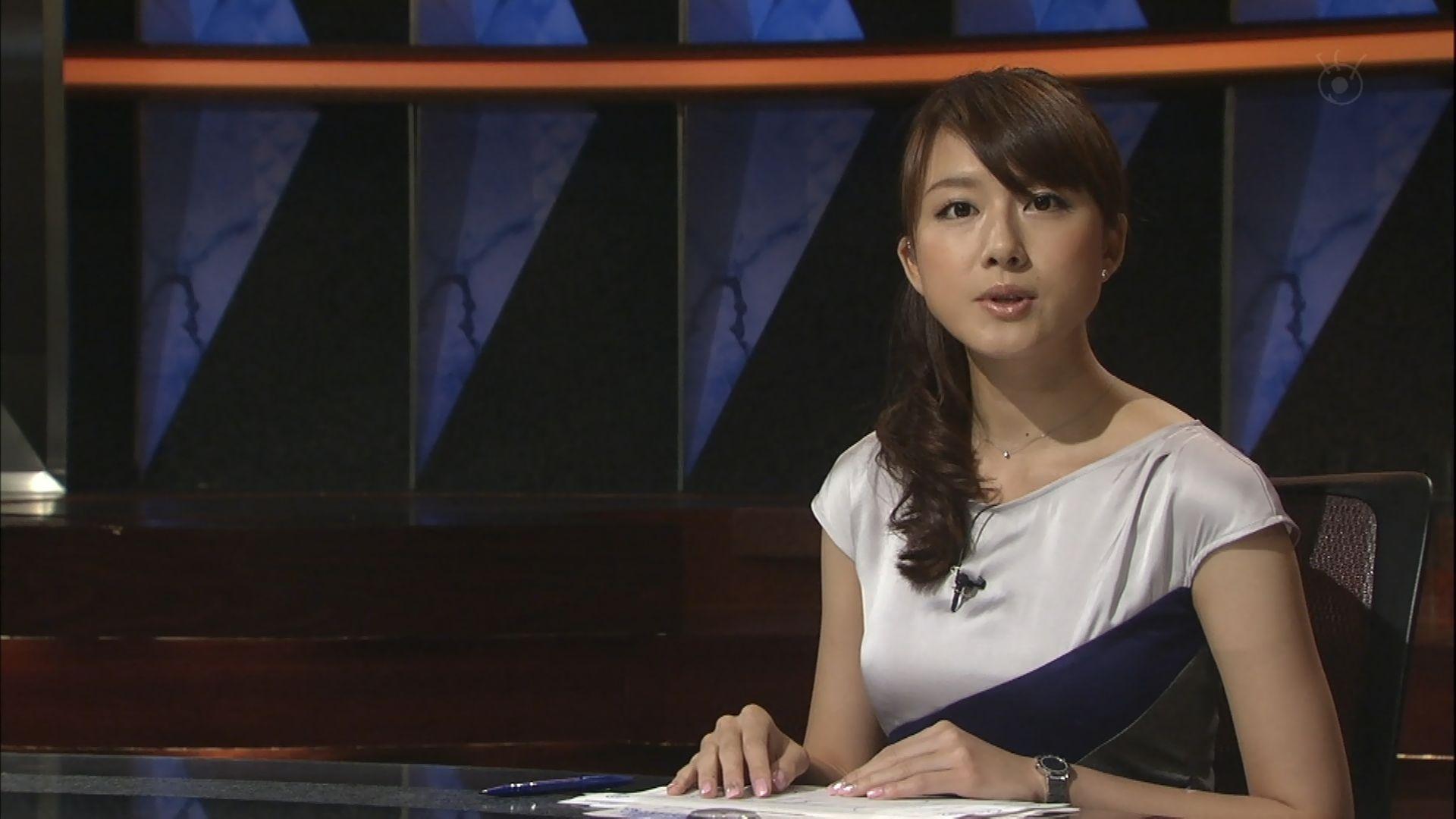 ニュースを読む大島由香里