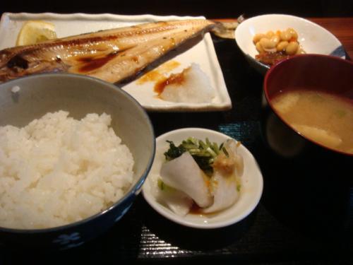 5/31ほっけ定食