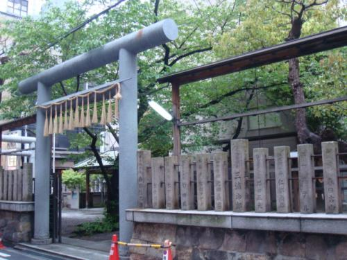 4/27 雨の御津八幡宮