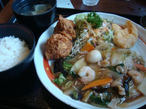7/31 新京 八宝菜定食