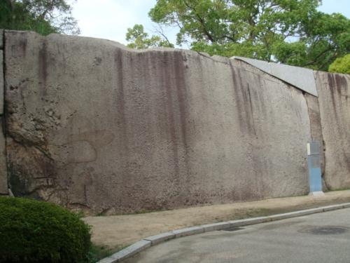 大阪城巨岩