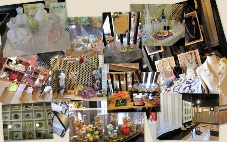ビーズパプリカ作品展(2010.12.8~12)1