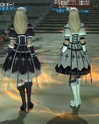 0430純白のゴシックドレス後