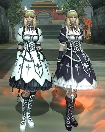 0430純白のゴシックドレス