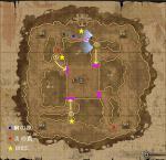最終防衛線MAP(イベント発生と罠位置)