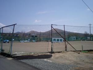 懐かしのテニスコート