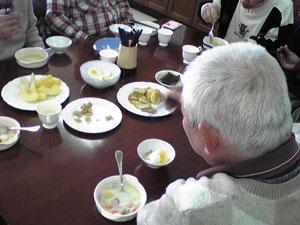 2012年1月20日食事風景