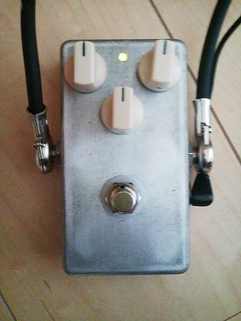 完成した自作TS808