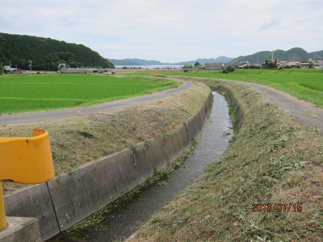 沢江川下流