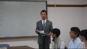 仙台大志スナップショット 挨拶 教頭先生