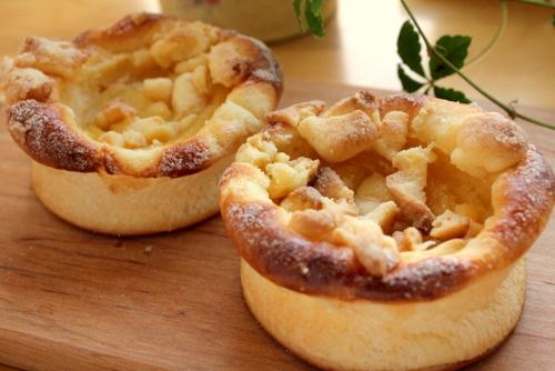 13.05.25アップルチーズケーキパン