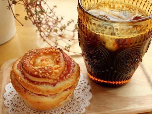 13.09.07ハムチーズパン