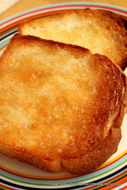13.10.29イギリスパン_トースト
