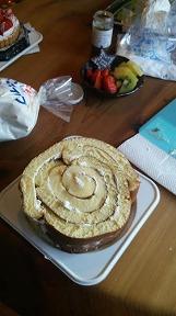 ロールケーキ丸型