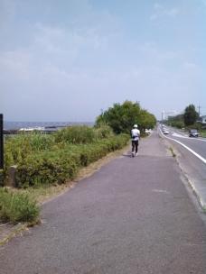 琵琶湖大橋が見える