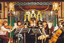 椿原神社・コンサート