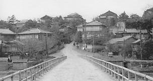 下菊橋から寺町へ