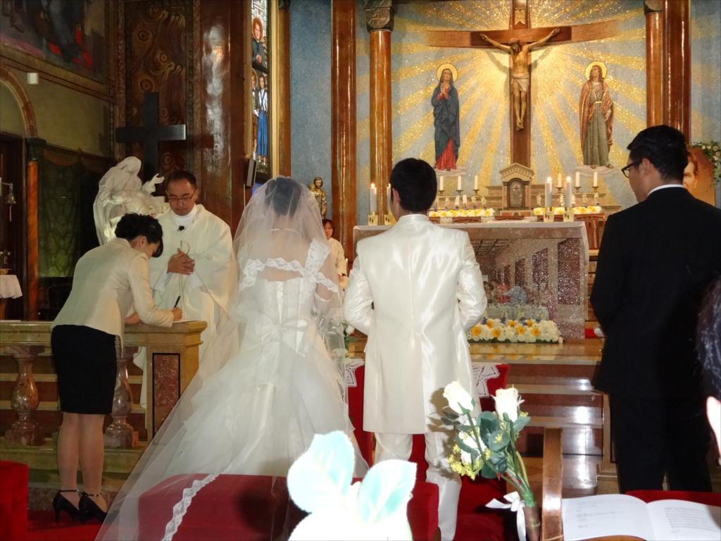 結婚式の様子_5