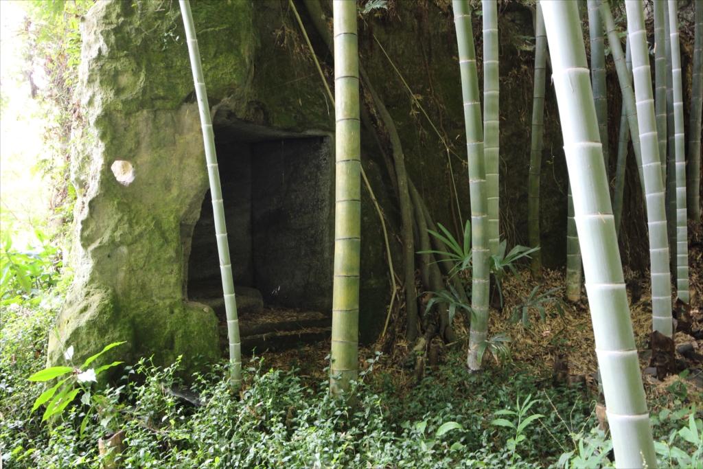この洞窟のようなものは何だろうか