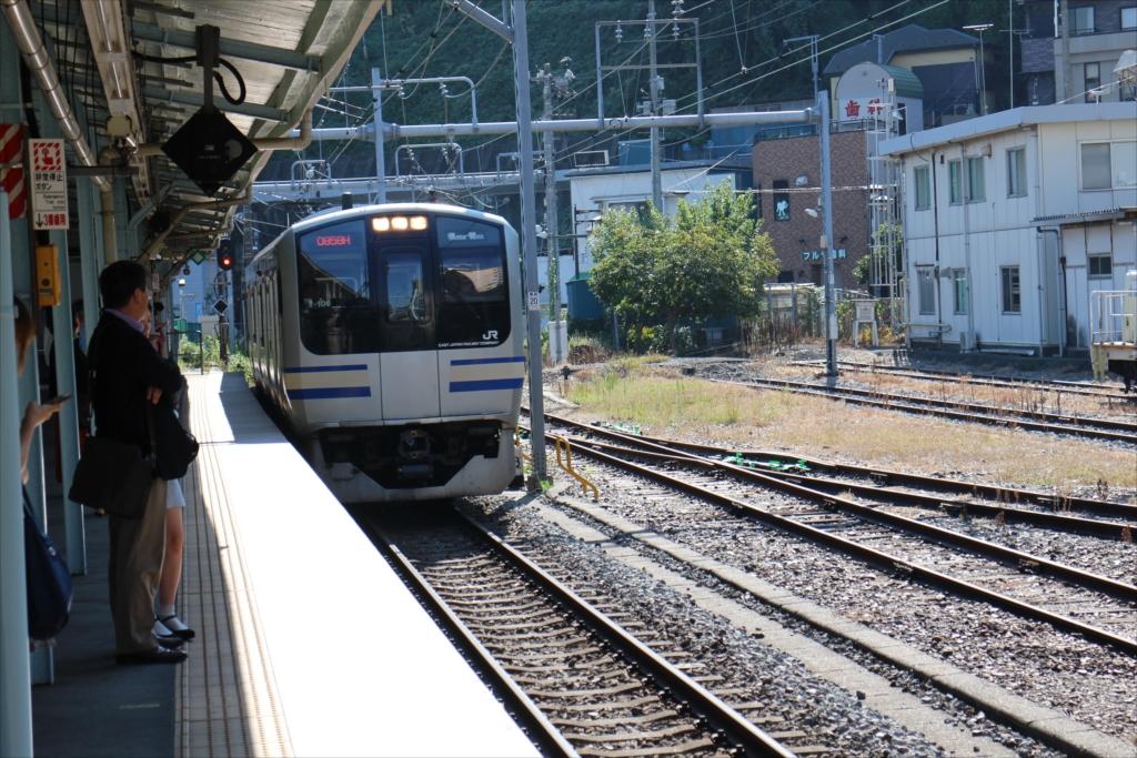 横須賀線の電車