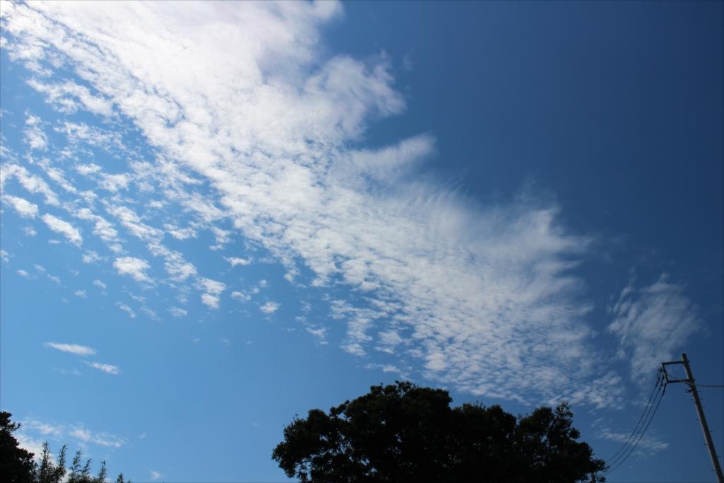途中の上り坂で見た秋の空_2