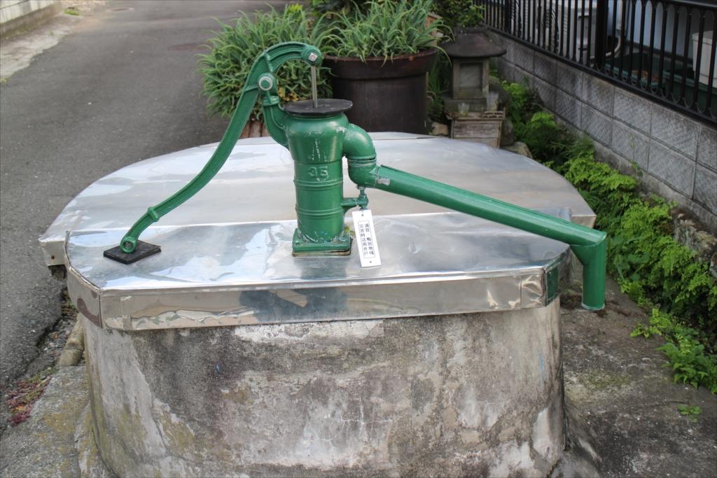 東浦賀のポンプ