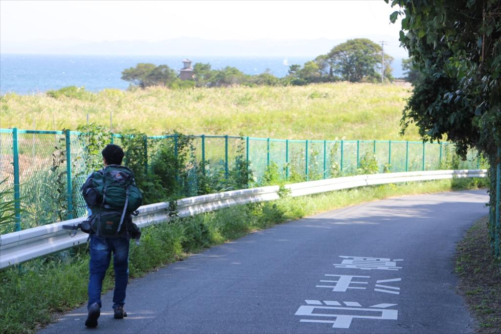 燈明堂跡への道_2