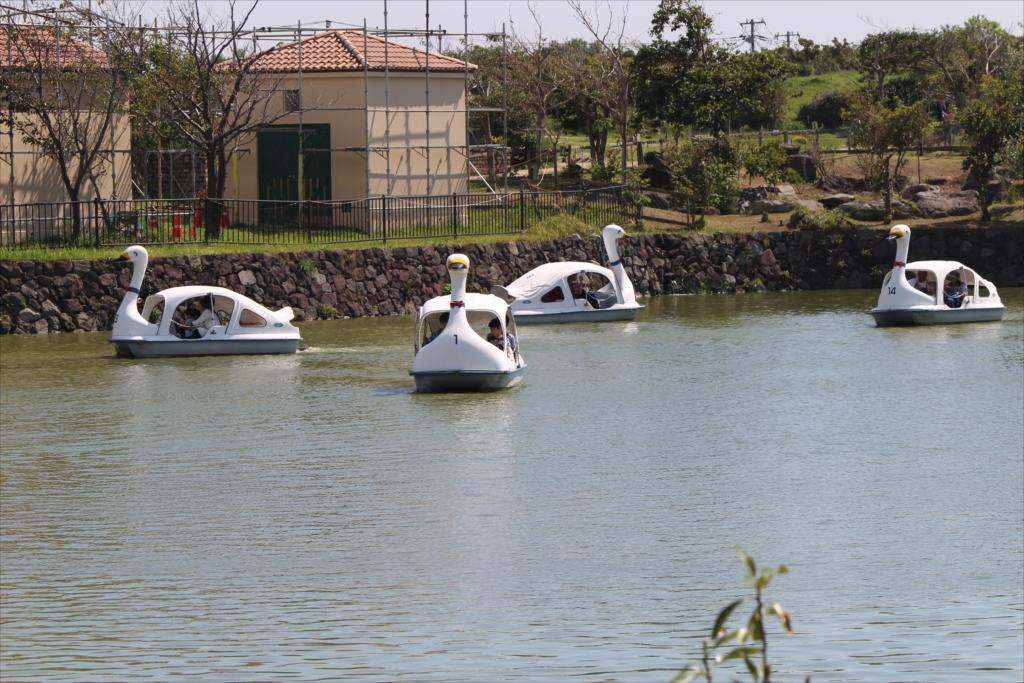 スワン型ボート_4