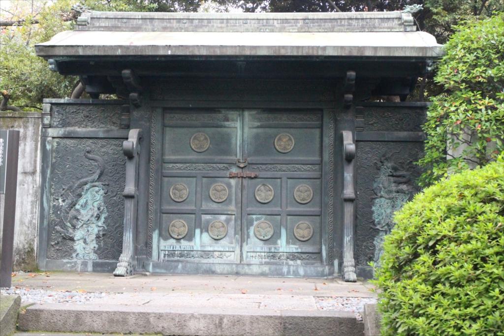 旧文昭院霊廟奥院中門