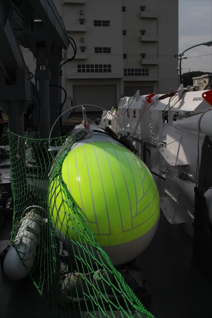 曳航掃海具のフロート(浮標)_2