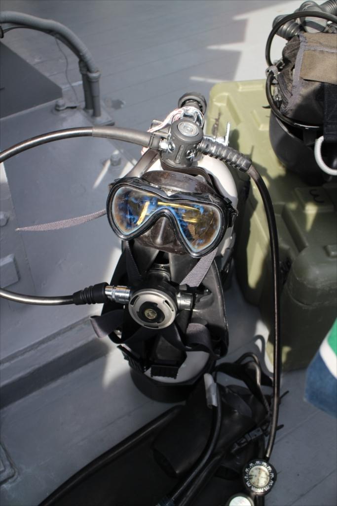 水中処分員用の装備_4