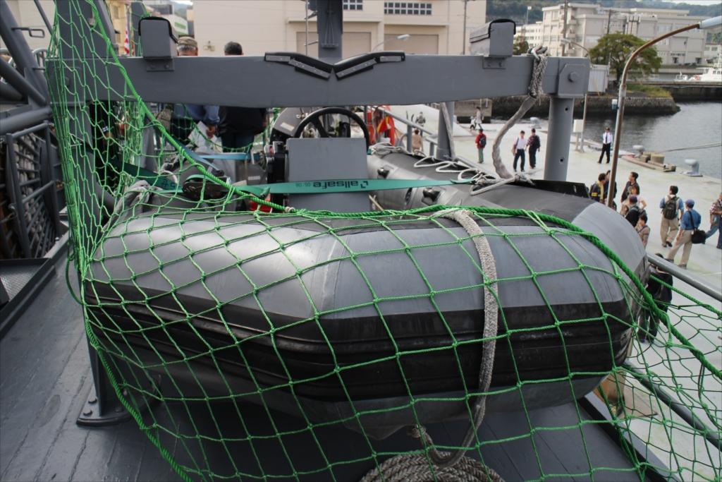 水中処分員用のゴムボート_1