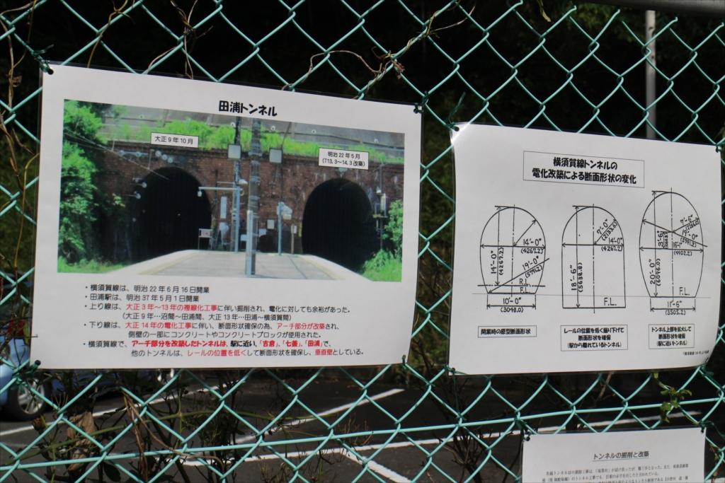 田浦トンネルの説明