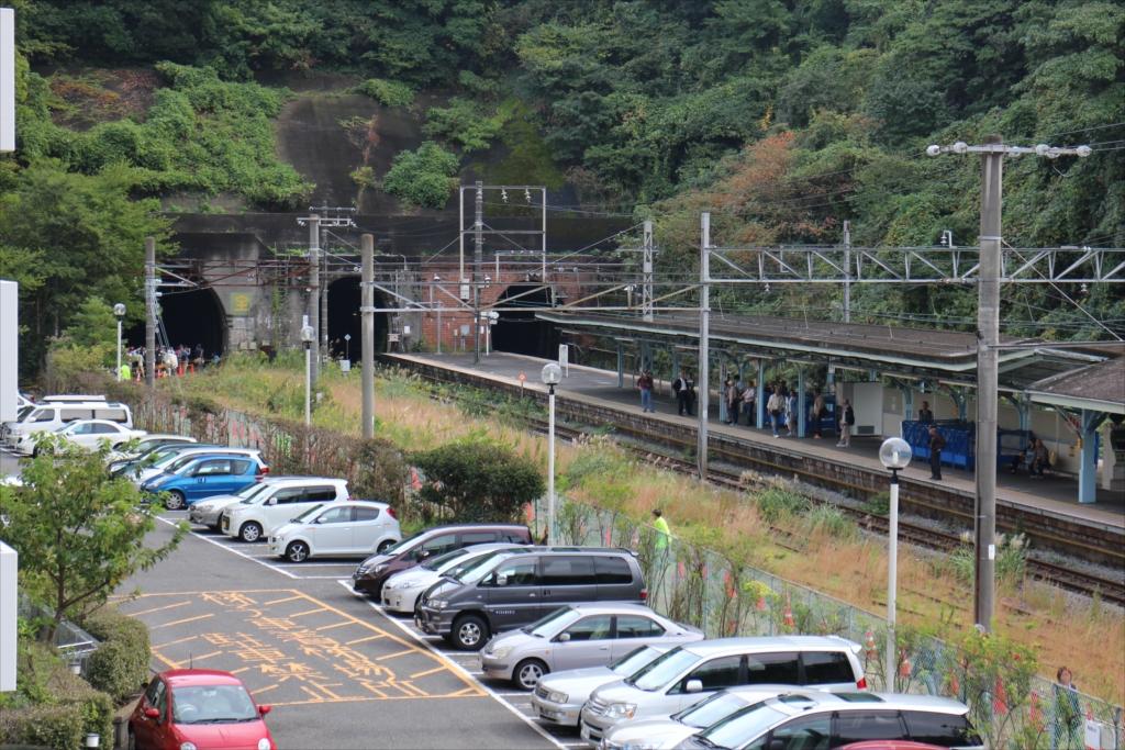 陸橋上から見た七釜トンネル_2