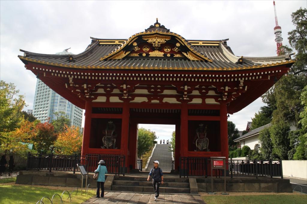 台徳院霊廟 惣門_5