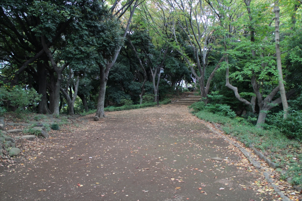 後円部への道