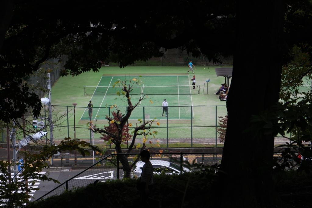 芝公園のテニスコート_1