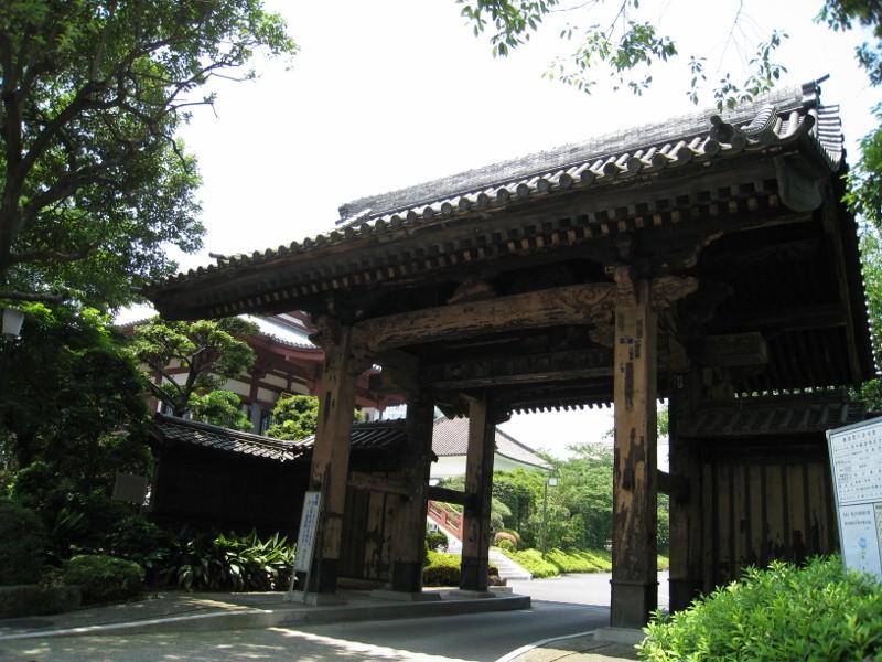 旧方丈門(黒門)_2