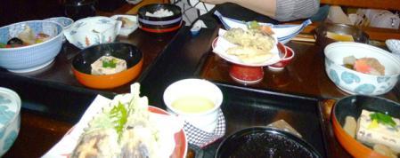 花菱の精進料理