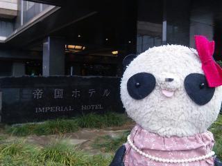 帝国ホテルに来ちゃった