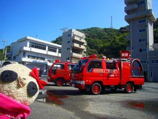 消防訓練センターにどーん!