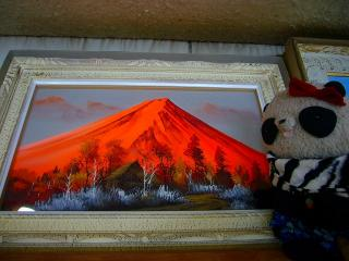 紅富士の絵