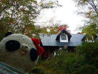 富士山近くの別荘地帯へ