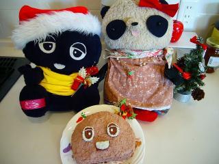 クロちゃんケーキ完成